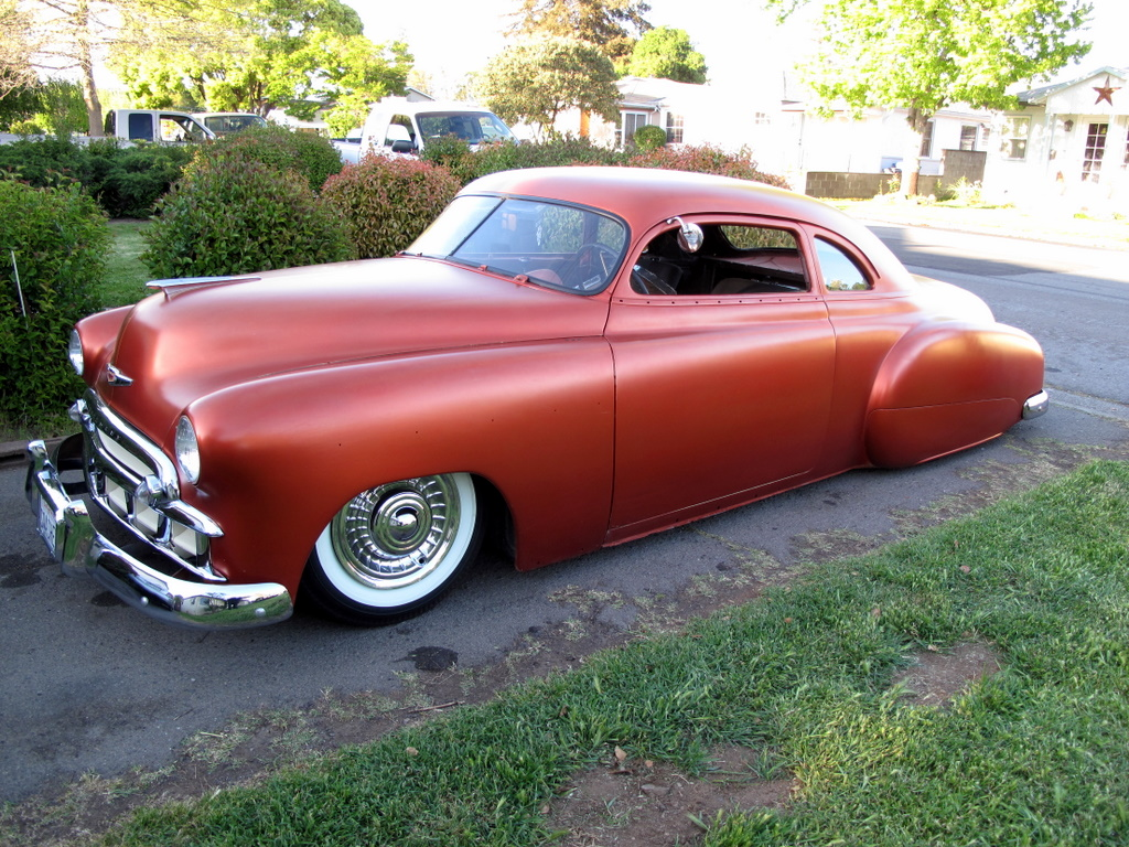 Chopped 1953 Chevy Bel Air 54 210 53 T 1954 And Bagged Rat Rod The Car As Well A 64 Bird Interior For It Plan Is To Get That All In Sometime This Year Prep Paint Body Maybe Next