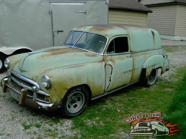 Shaun O's 1950 Chevy Sedan Delivery - 50chevy.com - 50chevy.com